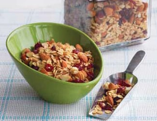 Crunchy Homemade Maple Granola