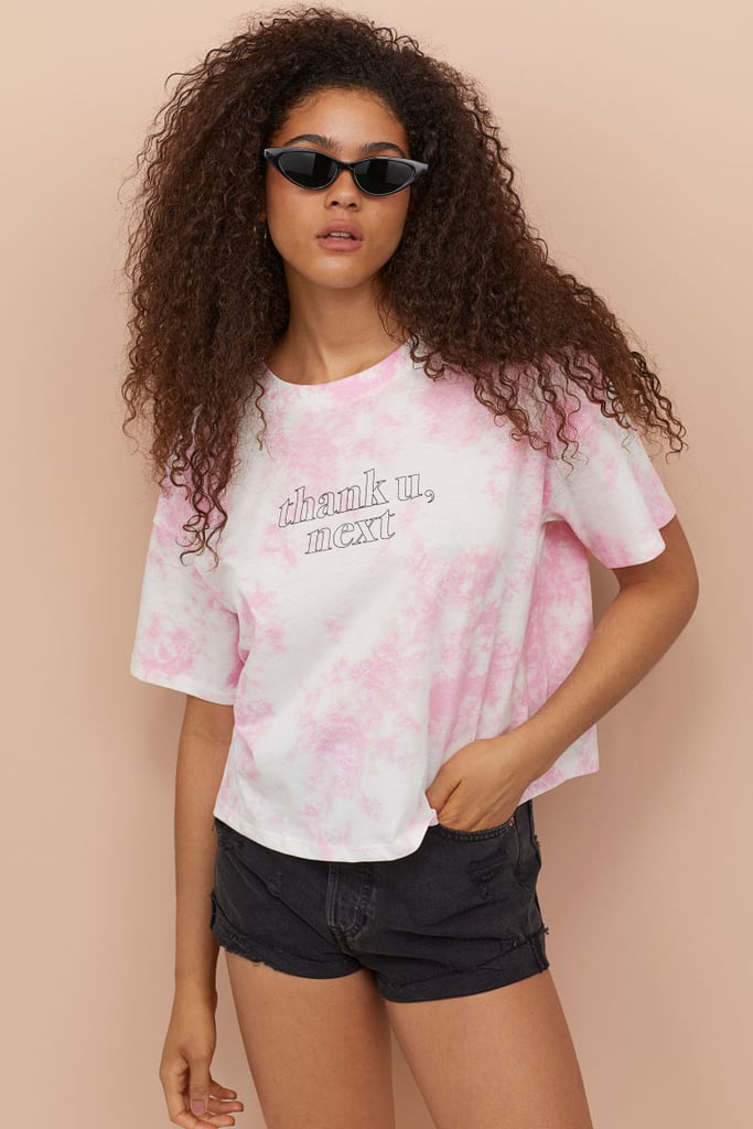 H&M T-Shirt With Printed Text