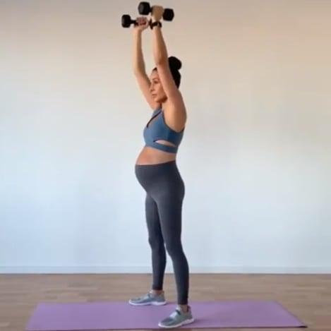 972a725ff833c Kayla Itsines Pregnancy Workout   POPSUGAR Fitness