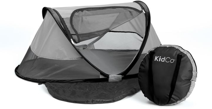 Kidco Peapod Plus Infant Travel Bed In Midnight Road Trip Gear For