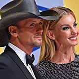 Faith Hill and Tim McGraw Show Up For the CMA Awards After Celebrating Their 20th Anniversary