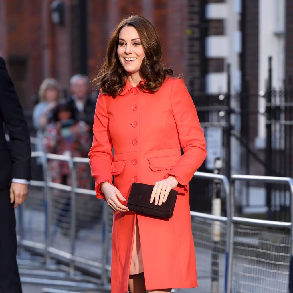 Kate Middleton Red Boden Coat