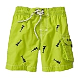 d7bf11fcfc L.L. Bean Caribbean Blue Fish Swim Shorts | Boys Swim Trunks With ...