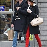 Emma Stone channeled vintage glamour on a much more accessible scale via a cool floppy brown fedora.