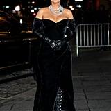 Blake Lively's Dolce & Gabbana Dress at Rhythm Section Event