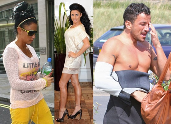 Photos of Katie Price and Shirtless Peter Andre