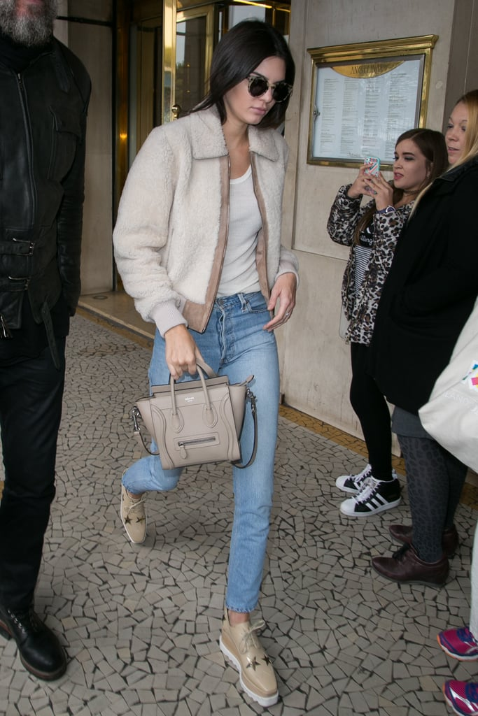 Kendall Jenner Just Wore Your Ideal Luxe-Meets-Lazy-Girl Outfit