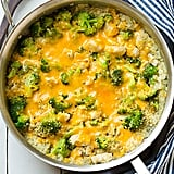 Gluten-Free: Cheesy Chicken, Quinoa, and Broccoli