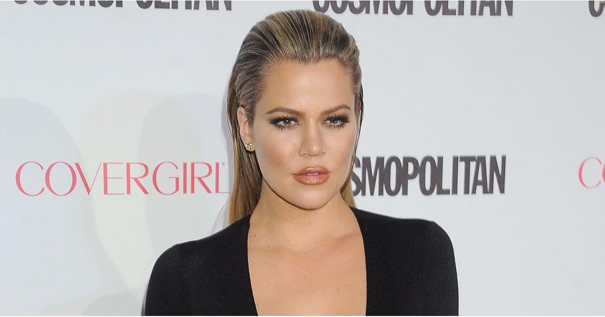 Khloe Kardashian Lob Haircut Popsugar Beauty