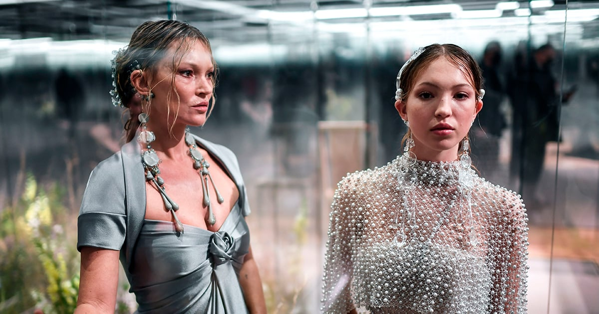 Kate Moss's Daughter Lila Is Her Total Mini-Me in Their First Runway Show Together