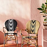Capri Striped Indoor/Outdoor Bistro Chair