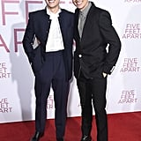 Cole and Dylan Sprouse at Five Feet Apart Premiere