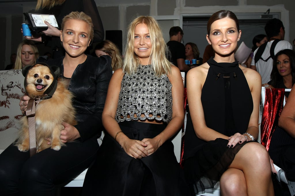 Hermione Underwood, Lara Bingle and Kate Waterhouse at Ellery