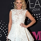 Miranda Lambert struck a pose on the CMT Artists Of The Year red carpet in Nashville on Tuesday.