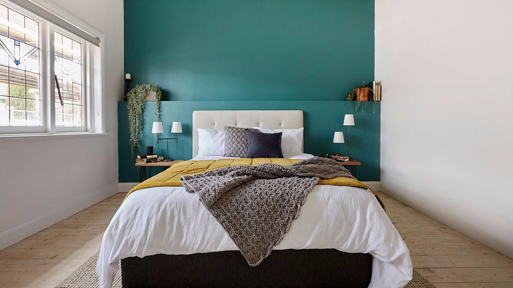 The block 2017 challenge bedrooms photos popsugar home for Bedroom photos