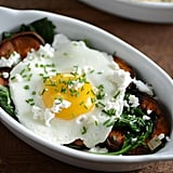 Sweet Potato, Spinach, and Egg Bowl