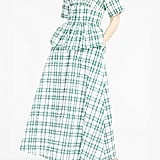 Rosie Assoulin Gingham Midi Dress