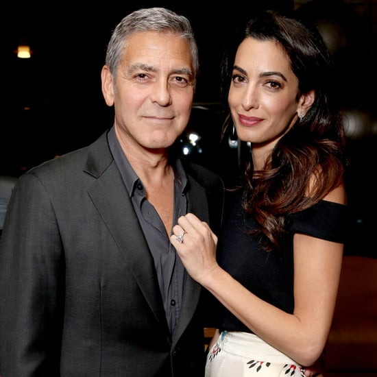 George and Amal Clooney at Hollywood's Night Under the Stars
