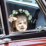 George and Charlotte at Harry's Wedding Pictures