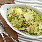 Shaved Brussels Sprouts Salad With Walnuts and Apples