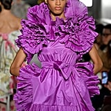 Florence Pugh's Purple Valentino Dress at Governors Awards