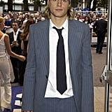 He suited up for the June 2003 premiere of Nicholas Nickleby in the UK.