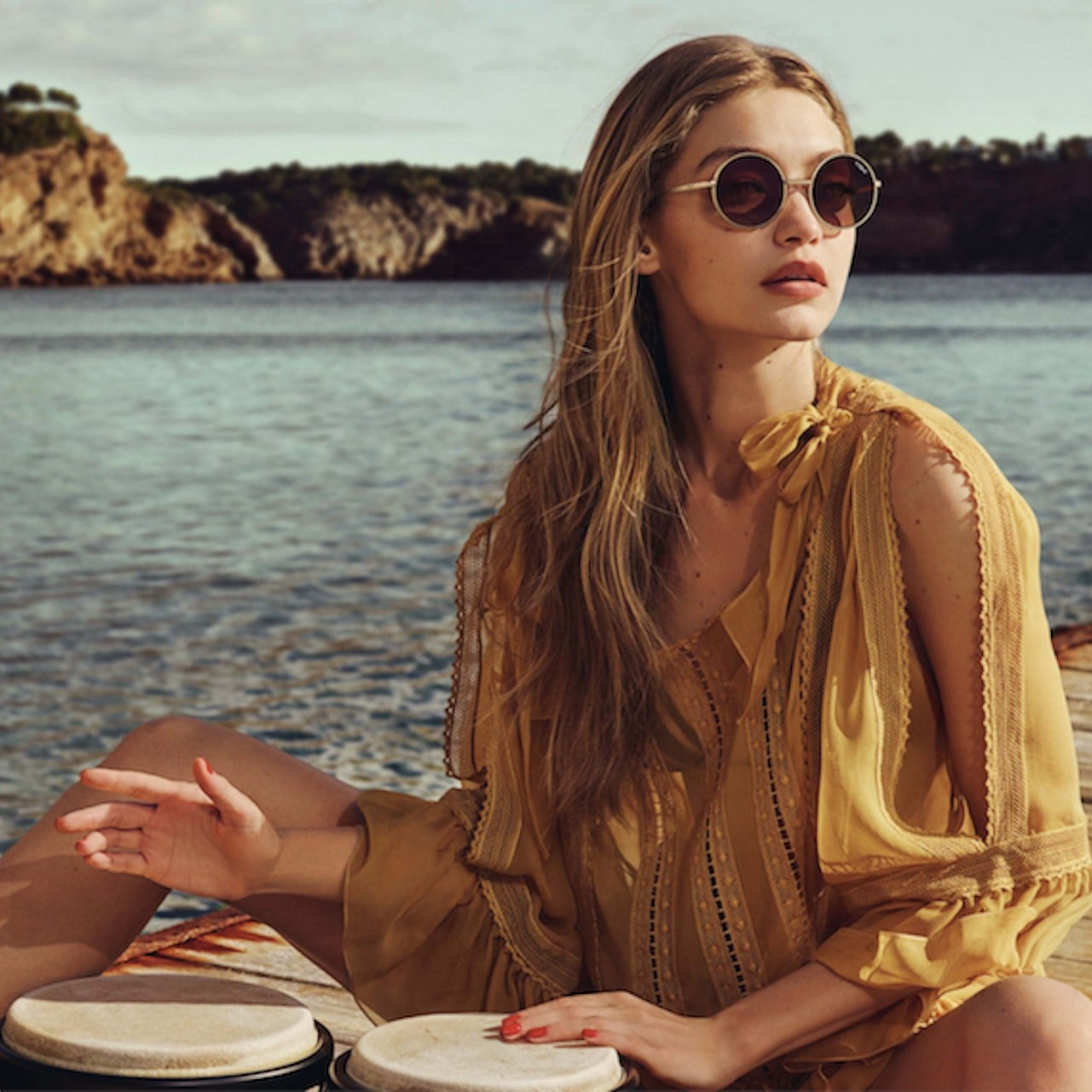 0abb9bf65cf Gigi Hadid For Vogue Eyewear Second Collection