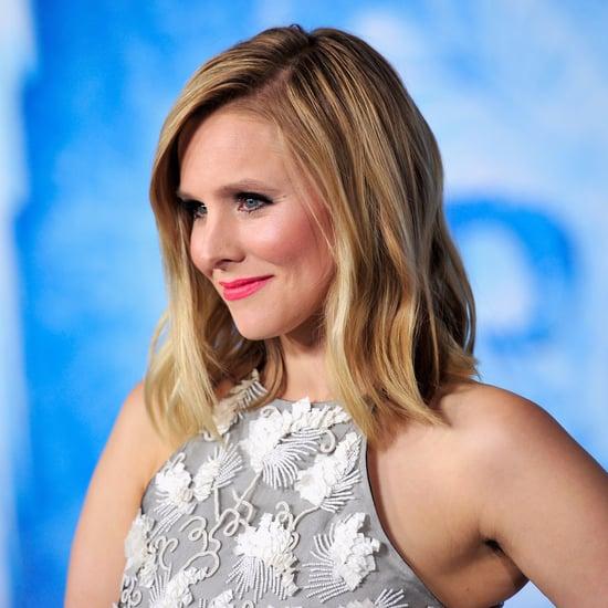 Kristen Bell's Daughter Behead Frozen Tree Ornament