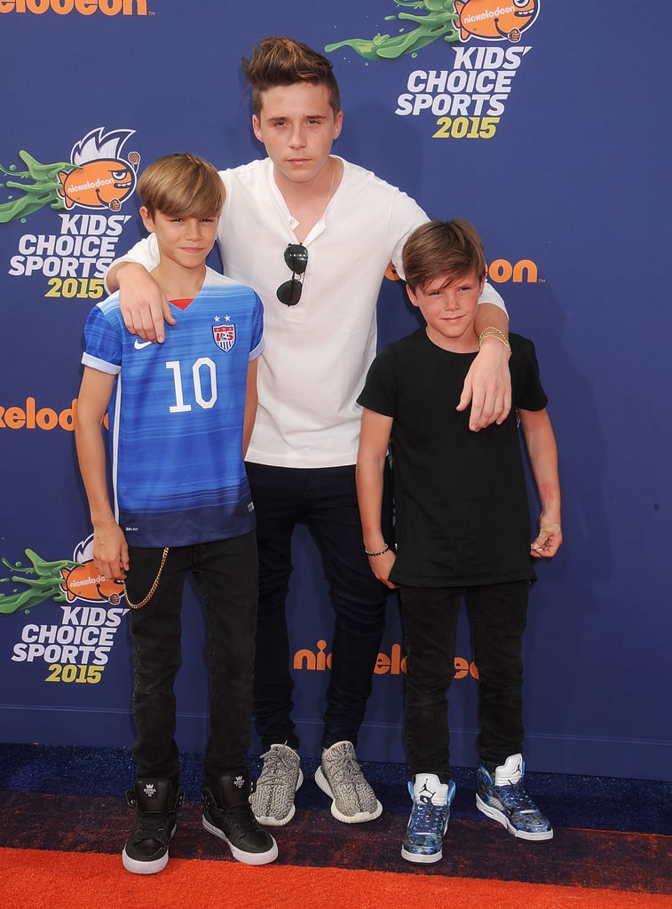 Beckham Boys At Kids Choice Sports Awards Pictures