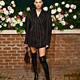 Elsa Hosk at the Lily Aldridge Parfums Launch During New York Fashion Week