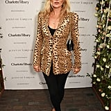 Kate once again turned to leopard when she attended the launch of Charlotte Tilbury's first fragrance.