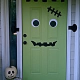 Frankendoor Halloween Decal