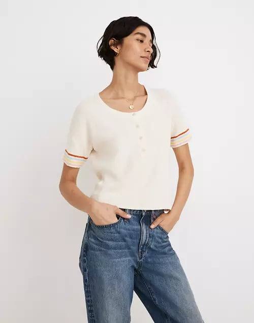Henley Sweater Tee