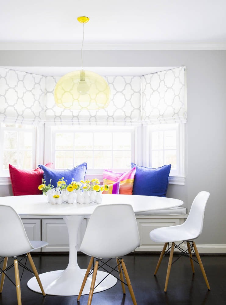 Create gorgeous custom roman blinds – no sewing skills needed! Source: Domino