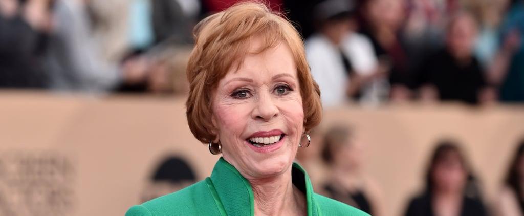 Carol Burnett Golden Globe Award 2019