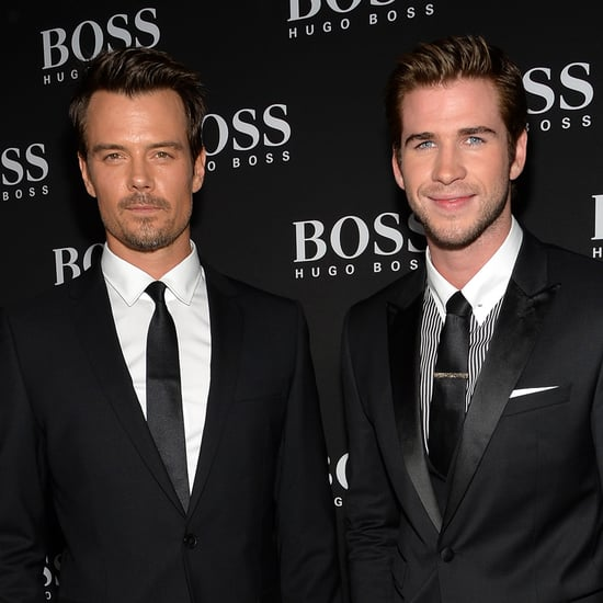 Liam Hemsworth at Hugo Boss Event After Miley Cyrus Split