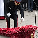 Prince Harry Visiting the Field of Remembrance 2017