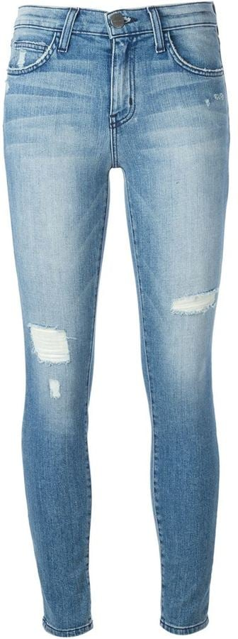 Current/Elliott Distressed Skinny Jeans ($228)