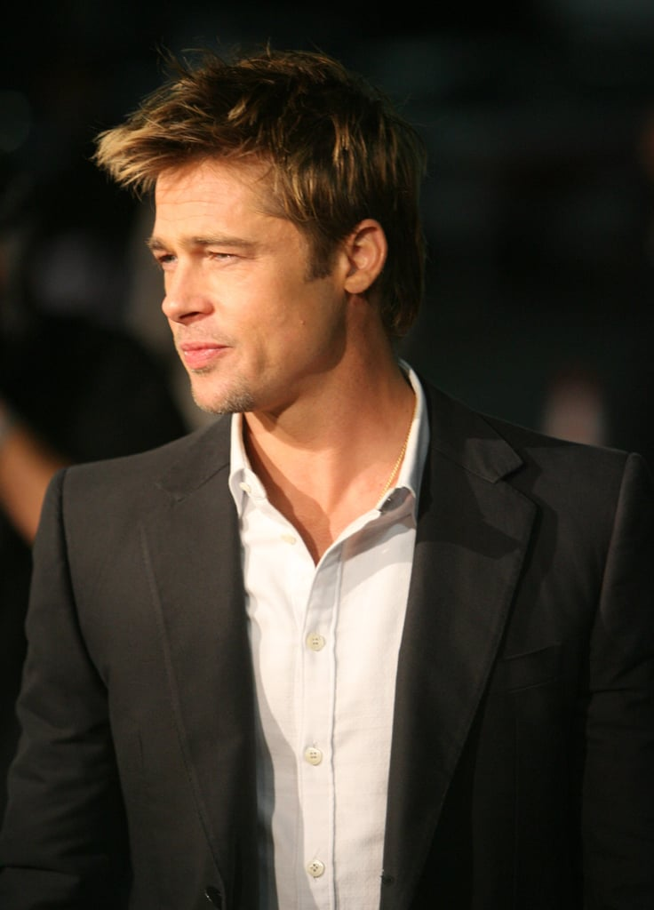Brad was the picture of perfection during Babel's LA premiere in November 2006.
