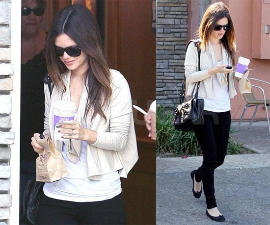 Photos of Rachel Bilson in LA 2009-10-23 14:46:35
