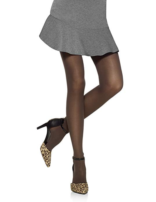 Hue Women's Opaque Control Top Tights