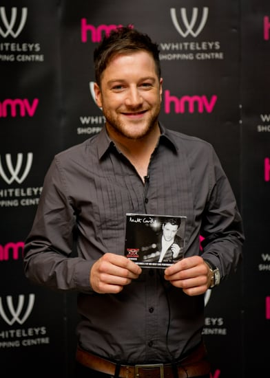Pictures of Matt Cardle With His X Factor Single