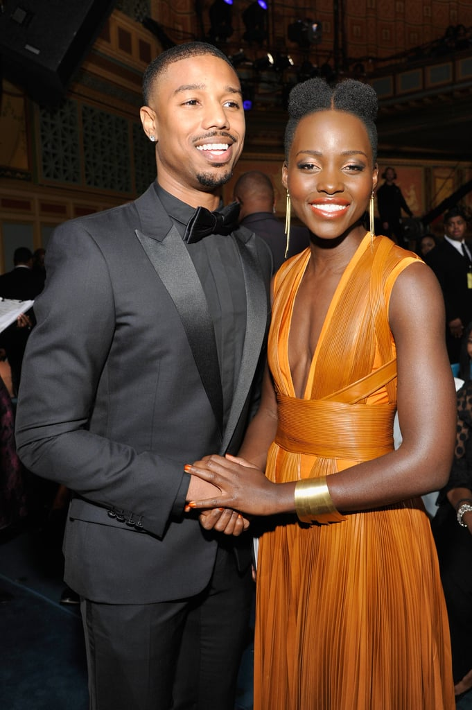They had a cute hand-holding moment at the NAACP Image Awards.