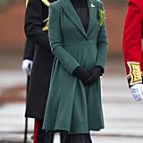 Kate at the Irish Guards on St. Patrick's Day in 2013