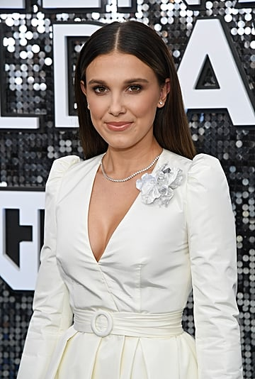 Millie Bobby Brown's Makeup at the SAG Awards 2020