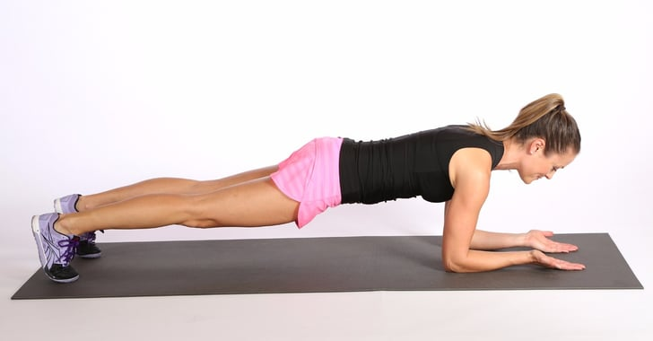 How To Make The Plank Exercise Harder Popsugar Fitness