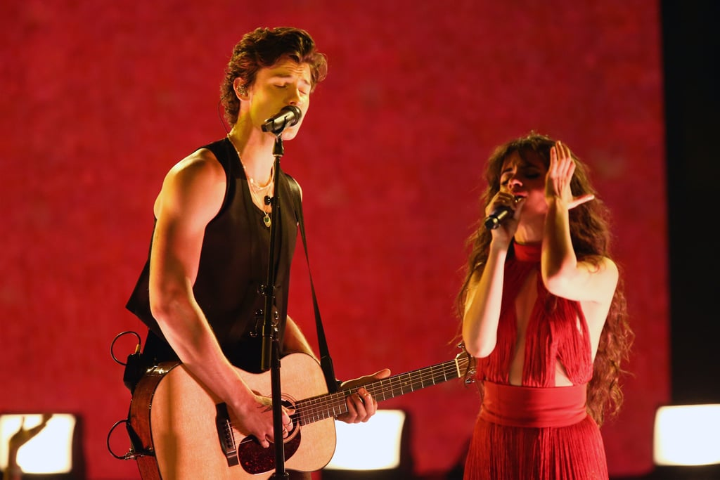 Camila Cabello and Shawn Mendes at the 2019 American Music Awards
