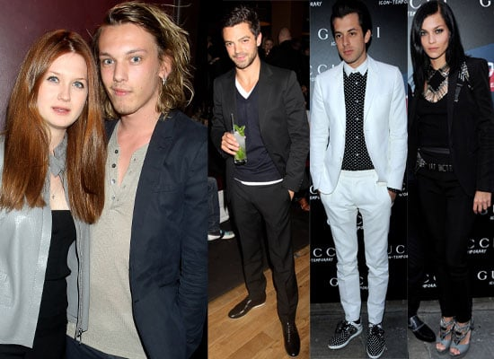 Photos from the Gucci Icon Party in London Featuring Bonnie Wright, Dominic Cooper, Jamie Campbell Bower,