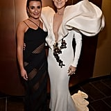 Lea Michele and Celine Dion