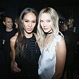 Joan Smalls With Karlie Kloss